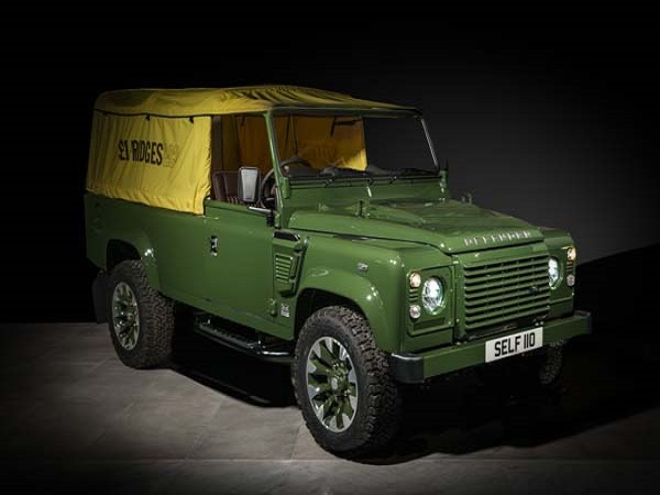 One-off Selfridges Edition V8 Defender hits 'Designer Street'