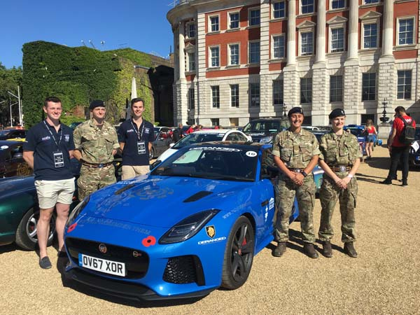 Driving a Jaguar F-Type SVR across Europe in 10 days for Rally for Heroes