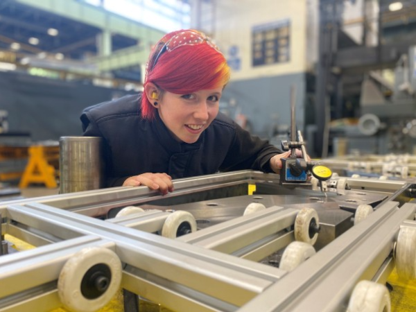 MAKING THE CUT:  HALEWOOD'S NEW DIE MANUFACTURING CENTRE!