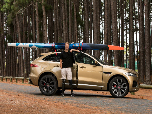 Paralympian Curtis McGrath becomes the new ambassador of Jaguar Australia