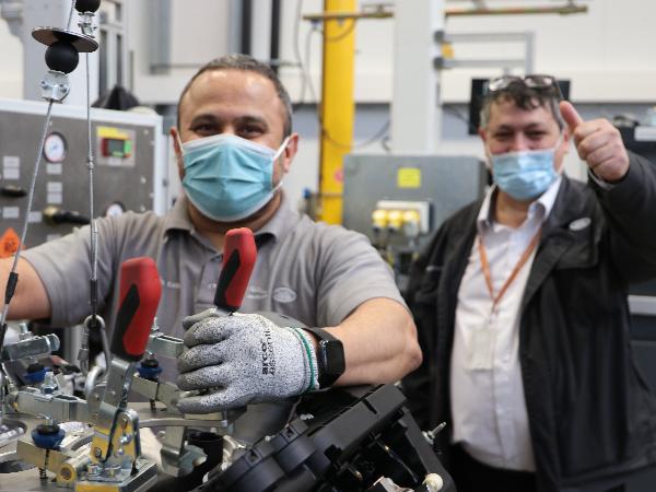 REFOCUS: CRISTI PANTAZIE'S IMPROVEMENTS AT THE ENGINE MANUFACTURING CENTRE BAGS £53,000 SAVING