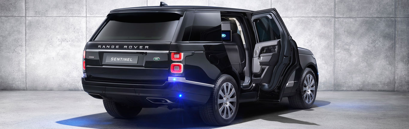 New armoured Range Rover Sentinel now with added performance and protection