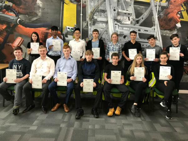 Halewood work experience success