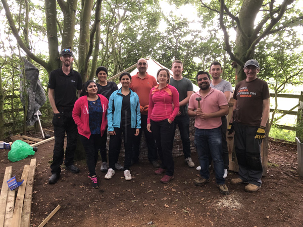 Super Systems volunteers use their powers to revitalise a children's garden
