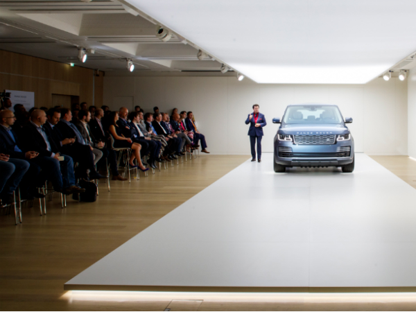 Watch: Team Talk TV Special - New Range Rover Revealed at London Design Museum