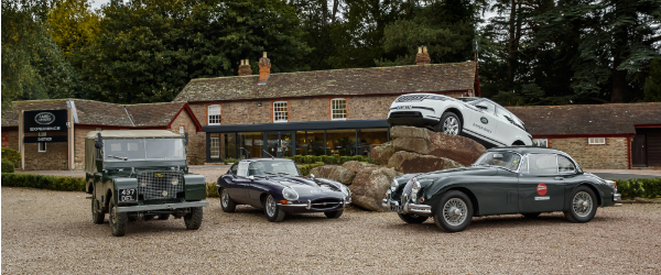 Relive Jaguar and Land Rover Legends with New Classic Drive Experience at Eastnor