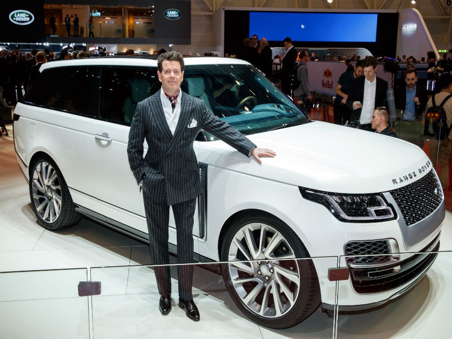 Luxurious and suave Range Rover SV Coupe launched at the Geneva Motor Show