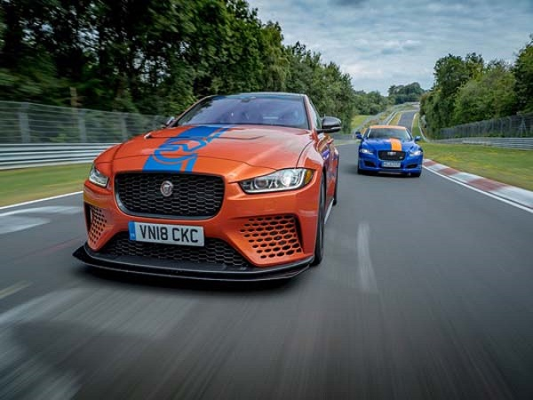 Extreme XE SV Project 8 joins Jaguar's Nürburgring race taxi fleet
