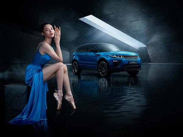 Land Rover China create limited edition Range Rover for actress Zhong Chuxiu
