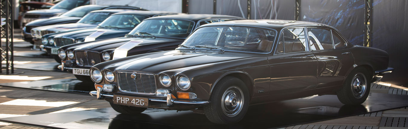 Jaguar XJ celebrates its 50th at the AvD Oldtimer Grand Prix