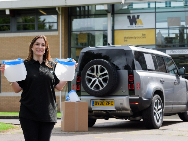 JAGUAR LAND ROVER HELPS SCHOOLS AS STUDENTS RETURN TO THE CLASSROOM