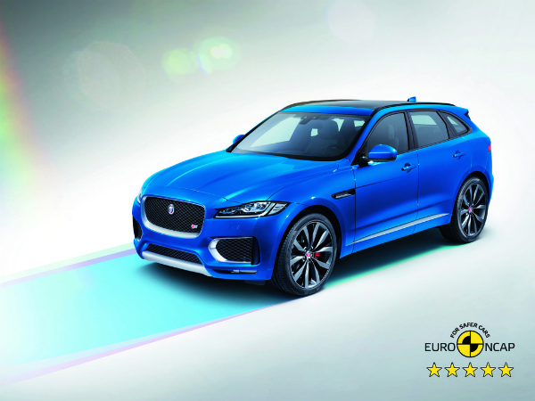 FIVE-STAR FAMILY: F-PACE JOINS E-PACE WITH TOP SAFETY AWARD