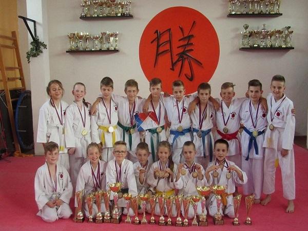 Podporili sme nitriansky klub karate /  We have supported Nitra karate club