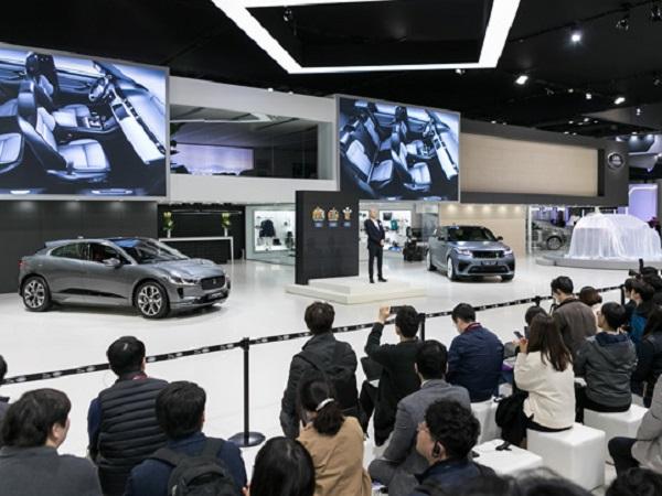 Three Jaguar Land Rover models make their debut in South Korea