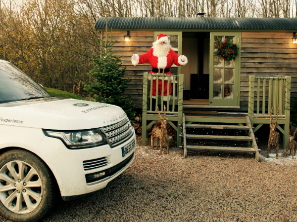 VISIT SANTA'S GROTTO AT EASTNOR LAND ROVER EXPERIENCE THIS CHRISTMAS