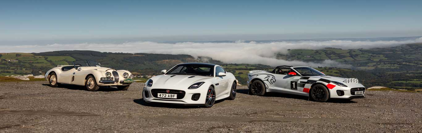 One-off F-TYPE rally cars recognise 70 years of Jaguar sports car heritage