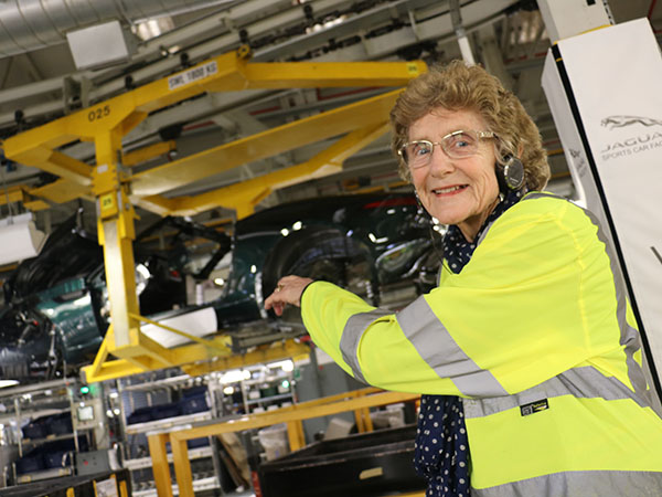Marcia Mills - An F-Type Customer 60 Years In The Making