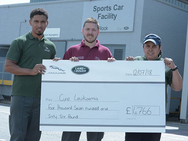 Footy Funds Bumper Cheque