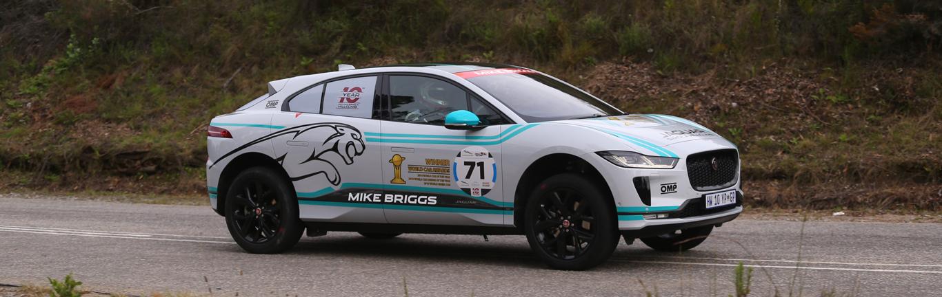 I-PACE and F-PACE SVR take limelight at the 10th Jaguar Simola Hillclimb