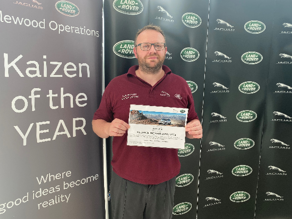 HALEWOOD'S KING KAIZEN! MEET OUR 2020/21 KAIZEN OF THE YEAR!