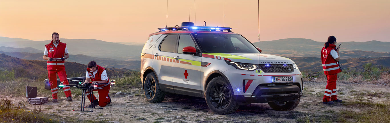 Austrian Red Cross adds Land Rover Discovery control centre to its fleet