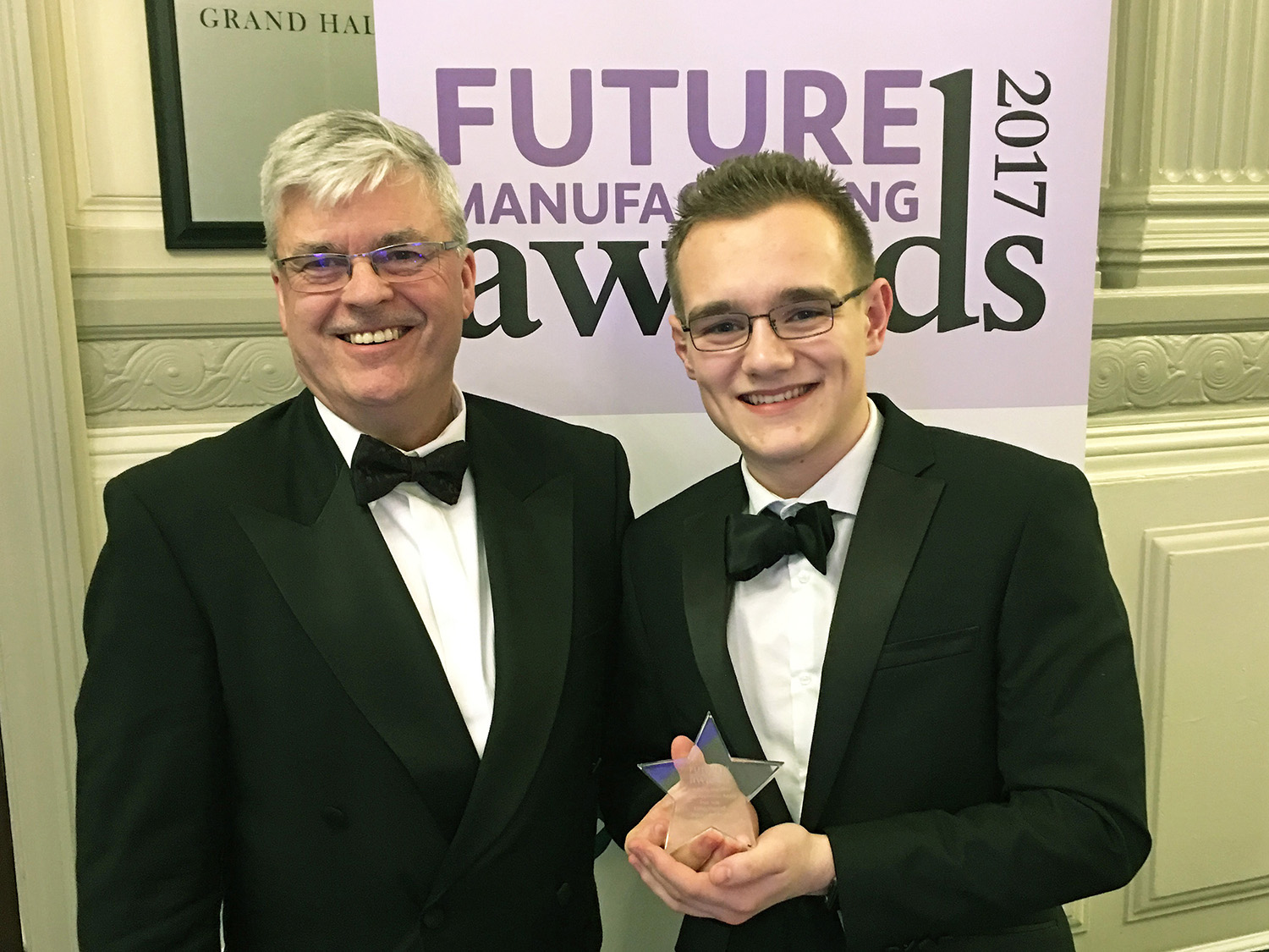 Ashley Hopwell named Rising Star at EEF Future of Manufacturing Awards