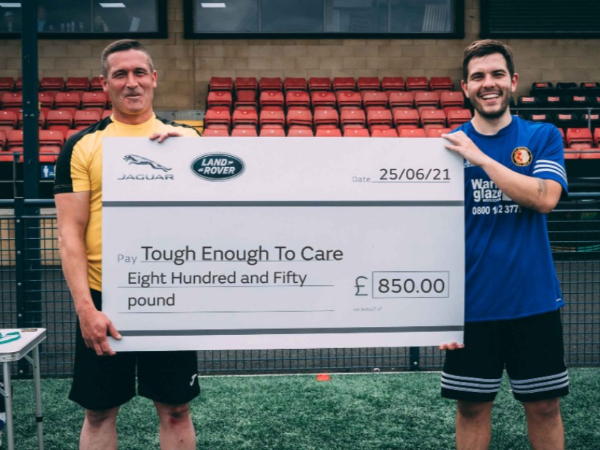 QUALITY RISES TO THE TOP AS CASTLE BROM  FOOTBALL TOURNAMENT RAISES £850 FOR CHARITY