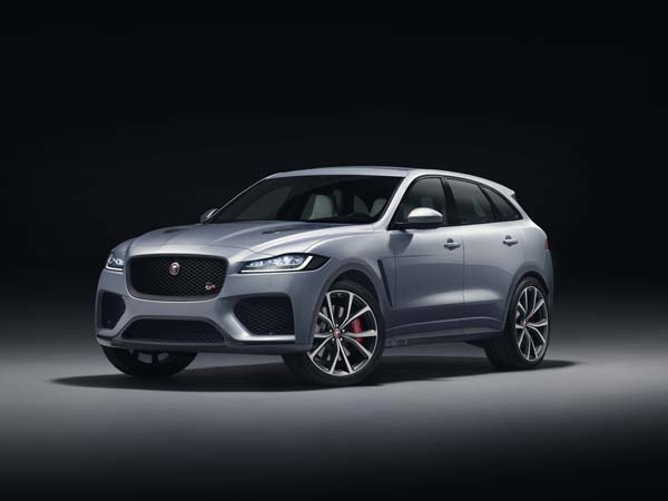 Jaguar F-PACE SVR mixes SUV practicality with sports car baiting performance