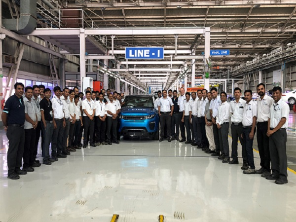 15,000th vehicle assembled in India