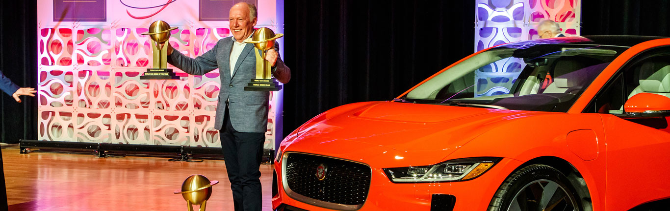 Jaguar I-PACE does the treble at the 2019 World Car Awards