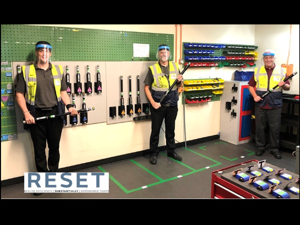 RESET: HALEWOOD HAS THE TOOLS FOR THE JOB