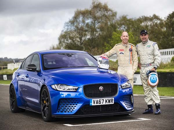 Le Mans legends give the XE SV Project 8 their seal of approval