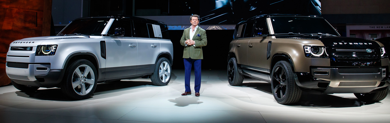 New Land Rover Defender puts on a show at its global debut