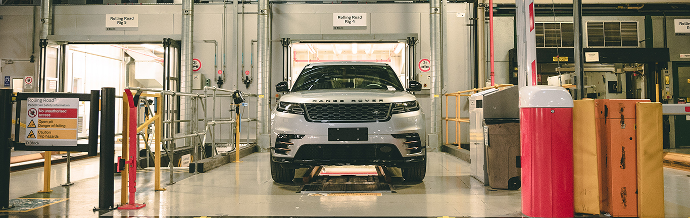 CASTLE BROMWICH OTA PROCESSING IS NOW SUPPORTING  RANGE ROVER VELAR PRODUCTION