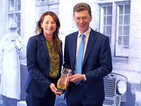 Jaguar Land Rover annual report wins 2018 pwc Public Trust Award