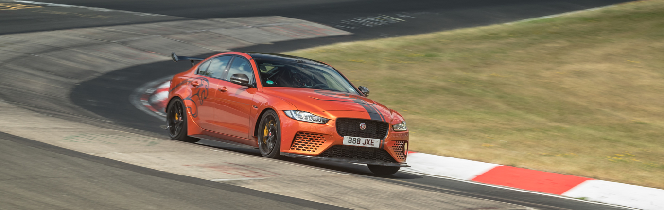 The world's fastest saloon smashes its own Nürburgring lap record