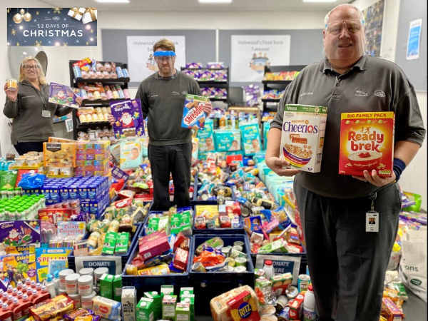 WE DID IT! HALEWOOD FOODBANK TAKEOVER SMASHES 1200 DONATION TARGET WITHIN HOURS!