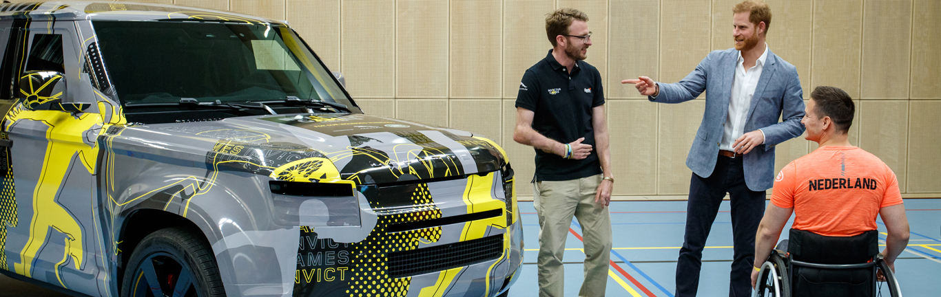 Jaguar Land Rover named Presenting Partner at 2020 Invictus Games