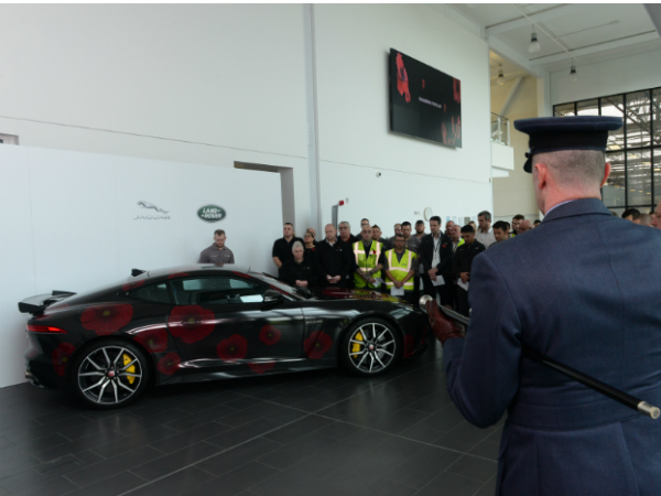 #PoppyCar joins EMC Employees in Remembrance Event