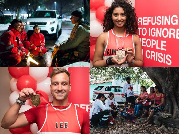 Red Cross London Marathon Prize Draw